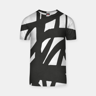 Thumbnail image of Black and white expressionism T-shirt, Live Heroes