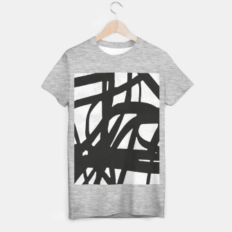 Thumbnail image of Black and white expressionism T-shirt regular, Live Heroes