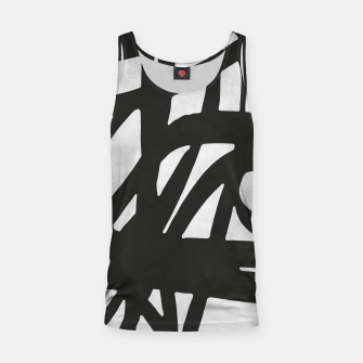 Thumbnail image of Black and white expressionism Tank Top, Live Heroes