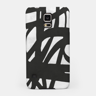 Thumbnail image of Black and white expressionism Samsung Case, Live Heroes