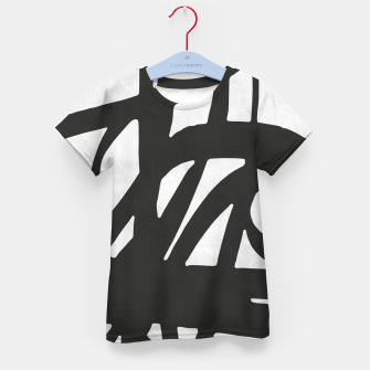 Thumbnail image of Black and white expressionism Kid's t-shirt, Live Heroes