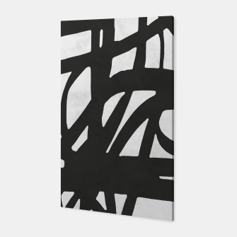 Thumbnail image of Black and white expressionism Canvas, Live Heroes