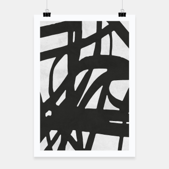 Thumbnail image of Black and white expressionism Poster, Live Heroes