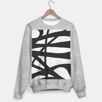 Thumbnail image of Black and white expressionism I Sweater regular, Live Heroes