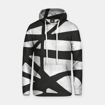Thumbnail image of Black and white expressionism I Cotton hoodie, Live Heroes