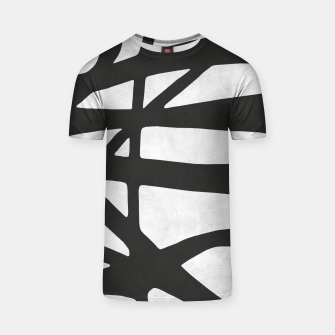 Thumbnail image of Black and white expressionism I T-shirt, Live Heroes