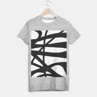 Thumbnail image of Black and white expressionism I T-shirt regular, Live Heroes
