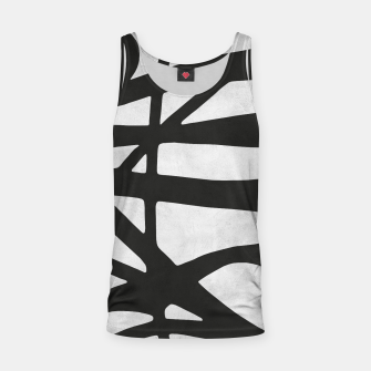 Thumbnail image of Black and white expressionism I Tank Top, Live Heroes