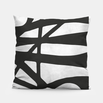 Thumbnail image of Black and white expressionism I Pillow, Live Heroes