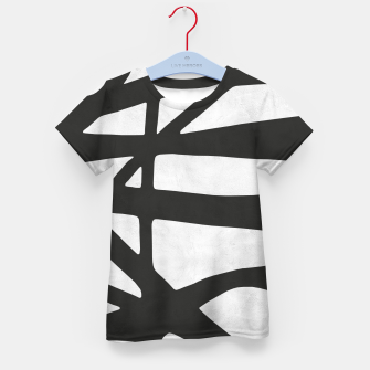 Thumbnail image of Black and white expressionism I Kid's t-shirt, Live Heroes