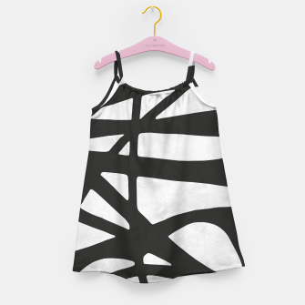 Thumbnail image of Black and white expressionism I Girl's dress, Live Heroes