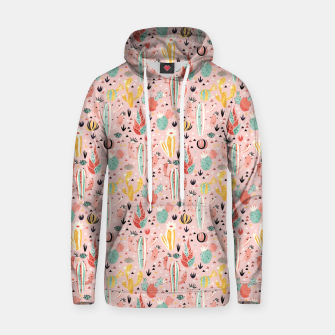 Thumbnail image of Pink Desert Cotton hoodie, Live Heroes