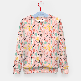 Thumbnail image of Pink Desert Kid's sweater, Live Heroes