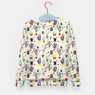Thumbnail image of Flower Pot with Cactus Kid's sweater, Live Heroes