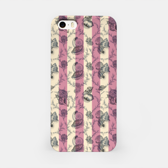 Miniatur Stripes & Shells - red iPhone Case, Live Heroes