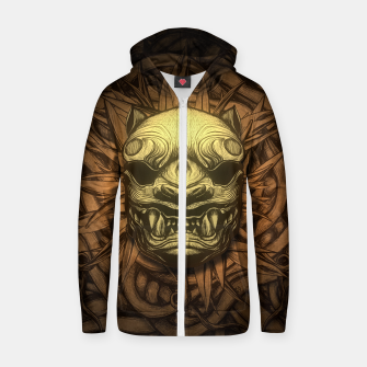 Thumbnail image of Tigre Color Cotton zip up hoodie, Live Heroes