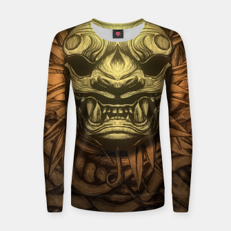 Thumbnail image of Tigre Color Woman cotton sweater, Live Heroes