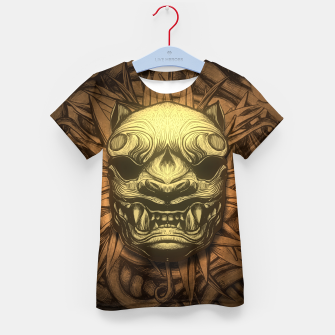 Thumbnail image of Tigre Color Kid's t-shirt, Live Heroes