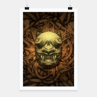 Thumbnail image of Tigre Color Poster, Live Heroes