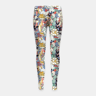 Thumbnail image of Blue Sky Succulents Girl's leggings, Live Heroes