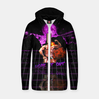 Miniaturka Lord, show me the Whey Cotton zip up hoodie, Live Heroes