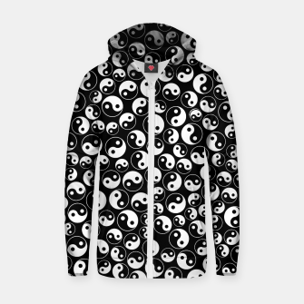 The Yin and the Yang Cotton zip up hoodie thumbnail image