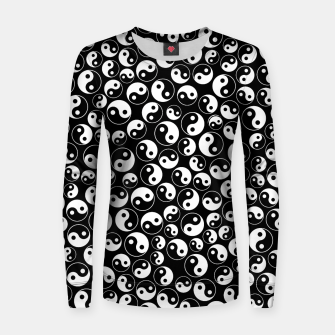 The Yin and the Yang Woman cotton sweater thumbnail image
