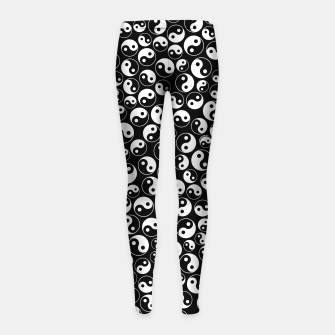 The Yin and the Yang Girl's leggings thumbnail image