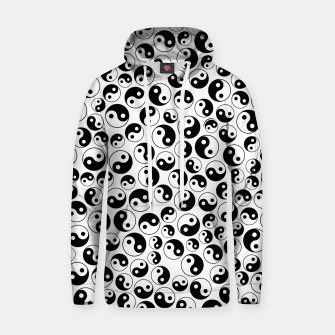 Thumbnail image of The Yin and the Yang II Cotton hoodie, Live Heroes