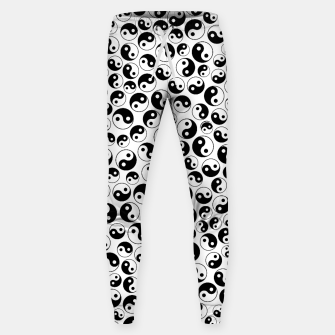 Thumbnail image of The Yin and the Yang II Cotton sweatpants, Live Heroes