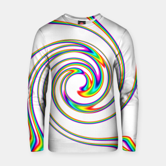 Thumbnail image of rainbows always come Cotton sweater, Live Heroes