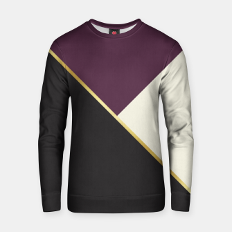Thumbnail image of Fashion pattern with gold I Cotton sweater, Live Heroes