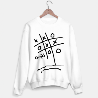 Thumbnail image of Tic Tac Oops Sweater regular, Live Heroes