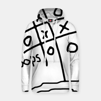Thumbnail image of Tic Tac Oops Cotton hoodie, Live Heroes