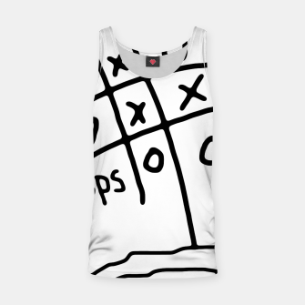 Thumbnail image of Tic Tac Oops Tank Top, Live Heroes