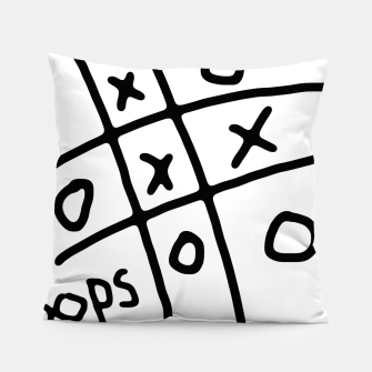 Thumbnail image of Tic Tac Oops Pillow, Live Heroes
