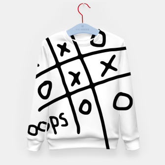 Thumbnail image of Tic Tac Oops Kid's sweater, Live Heroes