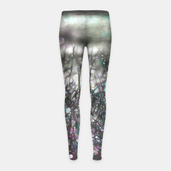 Thumbnail image of Binding darkness Girl's leggings, Live Heroes
