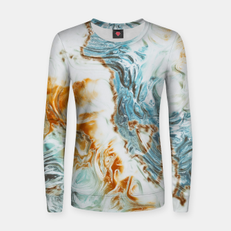 Thumbnail image of Liquid Summer Woman cotton sweater, Live Heroes