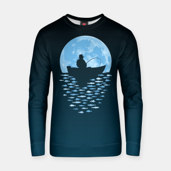 Thumbnail image of Hooked by Moonlight Cotton sweater, Live Heroes
