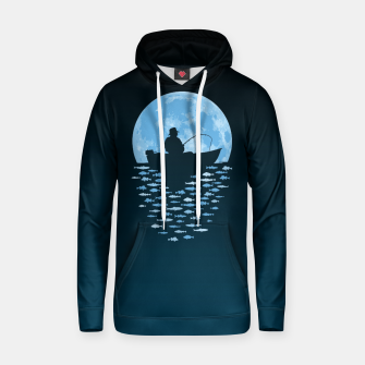Thumbnail image of Hooked by Moonlight Cotton hoodie, Live Heroes