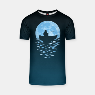 Thumbnail image of Hooked by Moonlight T-shirt, Live Heroes