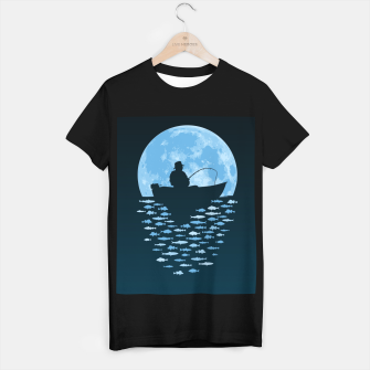 Thumbnail image of Hooked by Moonlight T-shirt regular, Live Heroes