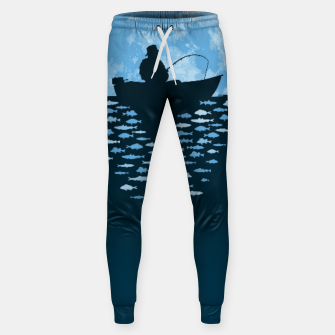 Thumbnail image of Hooked by Moonlight Cotton sweatpants, Live Heroes