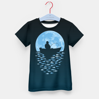 Thumbnail image of Hooked by Moonlight Kid's t-shirt, Live Heroes