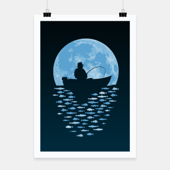 Thumbnail image of Hooked by Moonlight Poster, Live Heroes