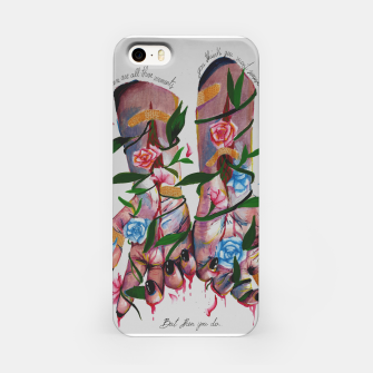 Thumbnail image of But then you do iPhone Case, Live Heroes