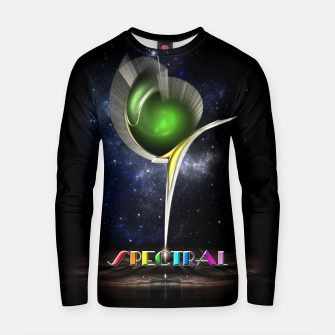 Thumbnail image of Spectral ZMO Fractal Art Composition Cotton sweater, Live Heroes