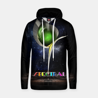 Thumbnail image of Spectral ZMO Fractal Art Composition Cotton hoodie, Live Heroes