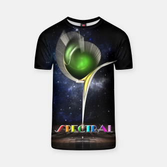 Thumbnail image of Spectral ZMO Fractal Art Composition T-shirt, Live Heroes